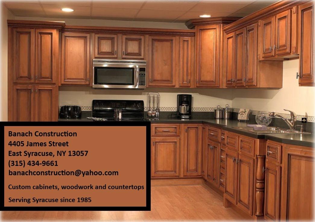 & Custom Cabinets East Syracuse NY | Banach Construction
